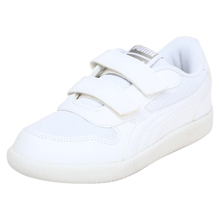 Kent V INF IDP Kid's Sneakers, Puma White-Puma White, small-IND