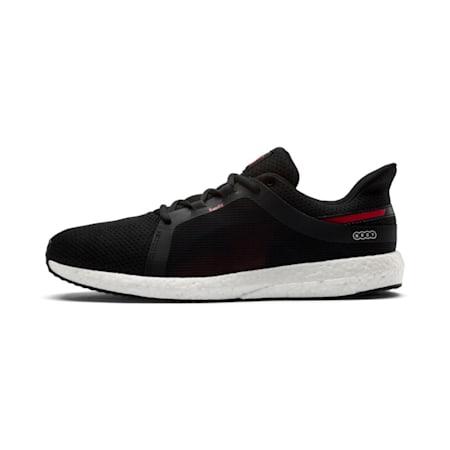 Mega NRGY Turbo 2 Men's Shoes, Puma Black-Ribbon Red, small-IND