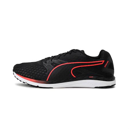 Speed 300 IGNITE 3 Men's Running Shoes, Puma Black-Red Blast, small-IND