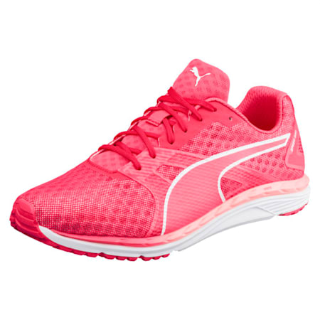 Speed 300 IGNITE 3 Women's Running Shoes, Pink-Fluo Peach-White, small-IND