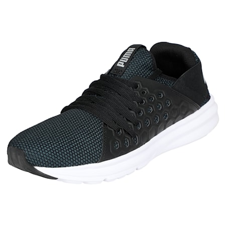 Enzo NETFIT Men's Training Shoes, Puma Black-Puma Silver, small-IND