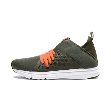 Enzo NETFIT Mid Men's Training Shoes, Forest Night-Firecracker, small-IND