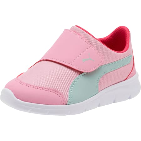 PUMA Bao 3 AC Sneakers Pre School, Pale Pink-Fair Aqua-Purple, small-SEA