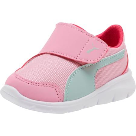 Puma Bao 3 AC Infant Sneakers, Pale Pink-Fair Aqua-Purple, small-SEA