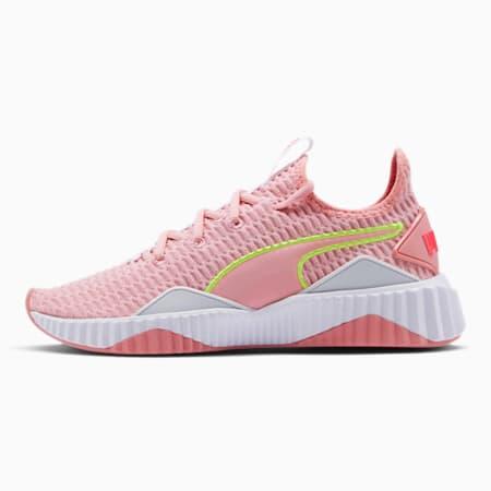 Defy Women's Training Shoes, Bridal Rose-Puma White, small