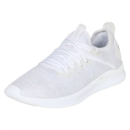 Flash IGNITE evoKNIT En Pointe Women's Shoes, Puma White-Gray Violet, small-IND