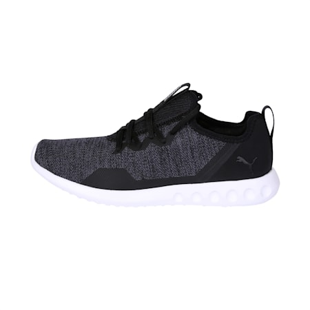 Carson 2 X Knit Men's Running Shoes, Puma Black-Asphalt, small-IND