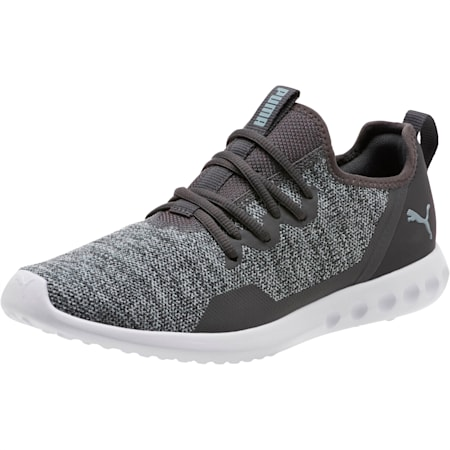 Carson 2 X Knit Men's Running Shoes, Asphalt-Quarry, small