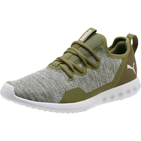 Carson 2 X Knit Men's Running Shoes, Olivine-Puma White, small