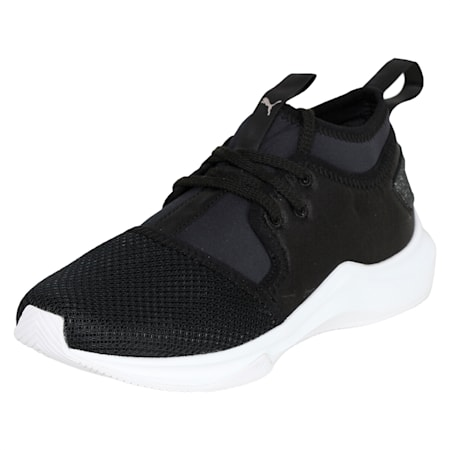 Phenom Satin Lo En Pointe Women's Training Shoes, Puma Black-Puma White, small-IND