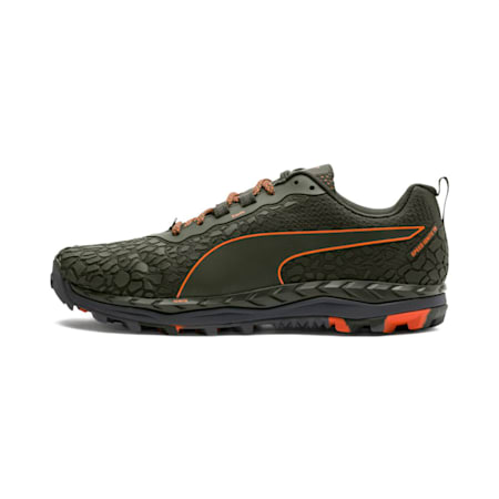 Speed IGNITE Trail 2 Men's Running Shoes, Forest Night-Firecracker, small-IND