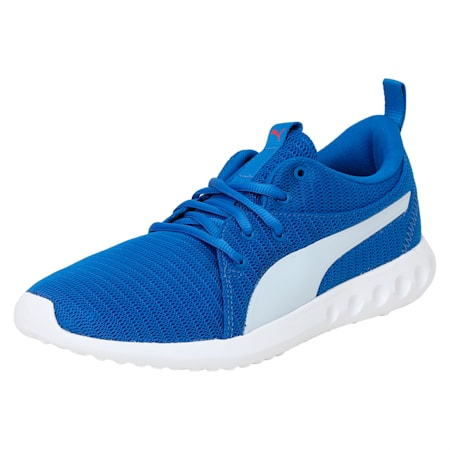 Carson 2 IDP Running Shoes, Lapis Blue-Puma White, small-IND