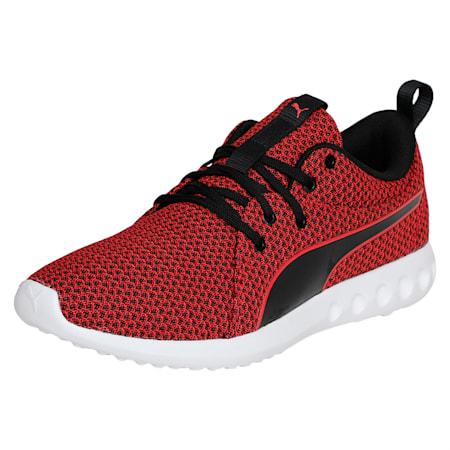 Carson 2 Knit IDP Running Shoes, Toreador-Puma Black, small-IND