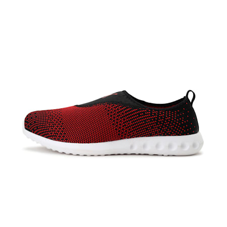 Carson 2 Slip-On IDP Women's Walking Shoes, Puma Black-Flame Scarlet, small-IND