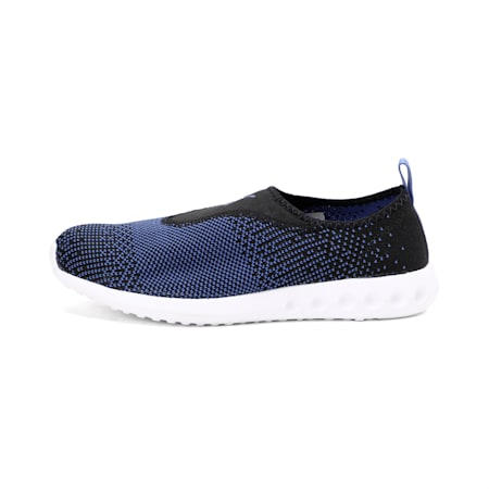 Carson 2 Slip-On Walking Shoe, Puma Black-Baja Blue, small-IND