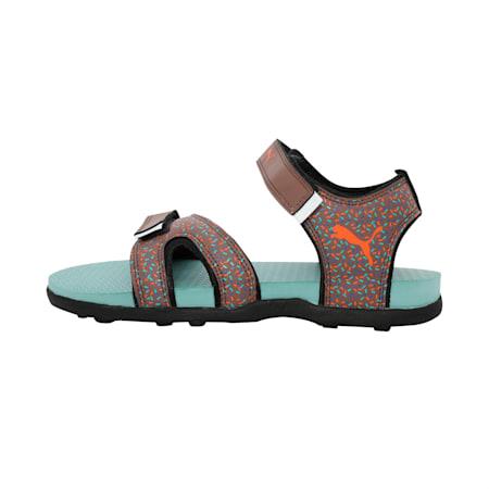Techno Cat GU Jr IDP Sandals, Peppercorn-Aquifer-Black, small-IND