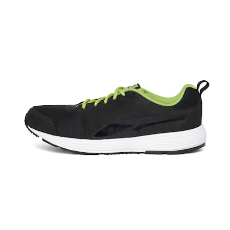 Octans IDP Men's Running Shoes, Puma Black-Puma White, small-IND