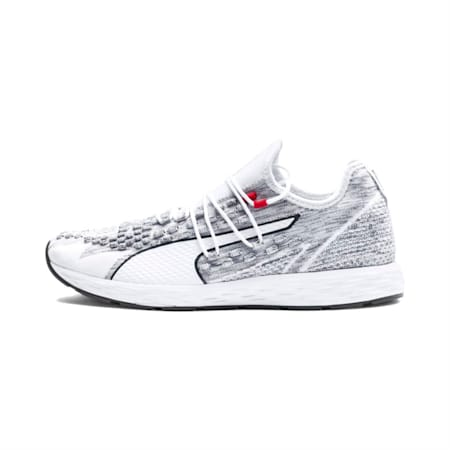 SPEED RACER Men's Running Shoes, White-Iron Gate, small-IND