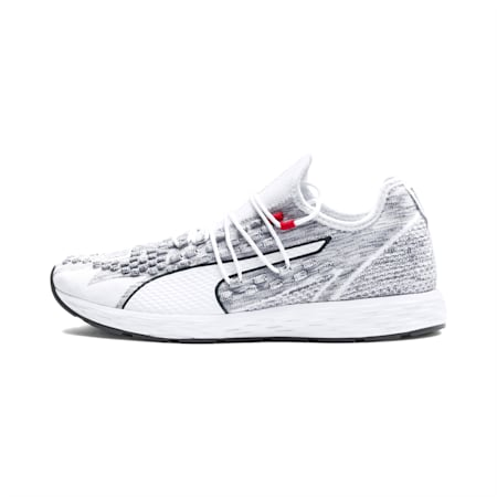 SPEED RACER  Running Shoes, White-Iron Gate, small-SEA
