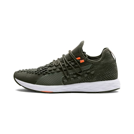 SPEED RACER  Running Shoes, Forest Night-Shocking Orange, small-IND