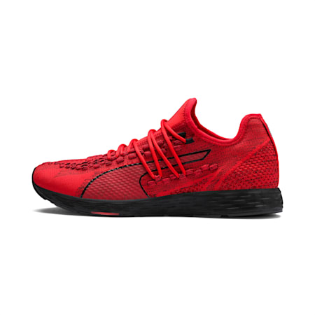 SPEED 300 RACER Men's Running Shoes, High Risk Red-Black, small