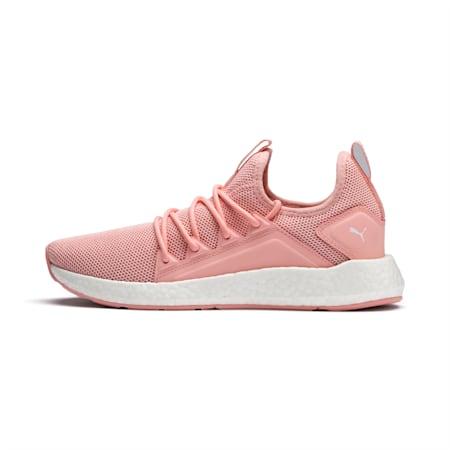 NRGY Neko Women's Running Shoes, Peach Bud-Puma White, small-IND