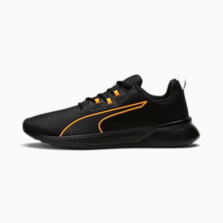 Tishatsu Runner Men's Training Shoes, Puma Black-Orange Pop, small