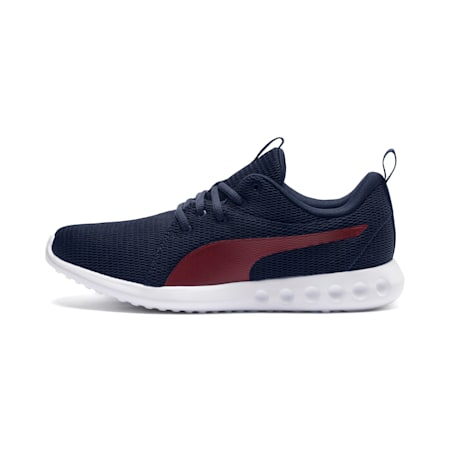 Carson 2 New Core Men's Running Shoes, Peacoat-Pomegranate, small-IND
