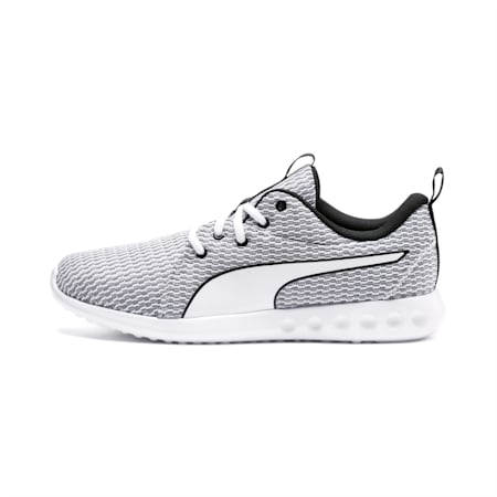 Carson 2 New Core Men's Running Shoes, White-White-Black, small