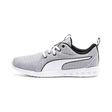Carson 2 New Core Men's Running Shoes, White-White-Black, small