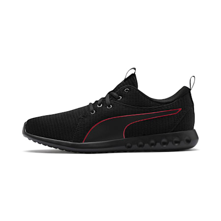 Carson 2 New Core Men's Running Shoes, Puma Black-High Risk Red, small