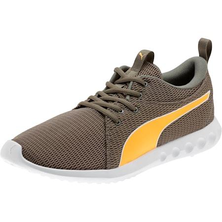 Zapatos para correrCarson 2 New Corepara hombre, Charcoal Gray-Orange Pop, pequeño