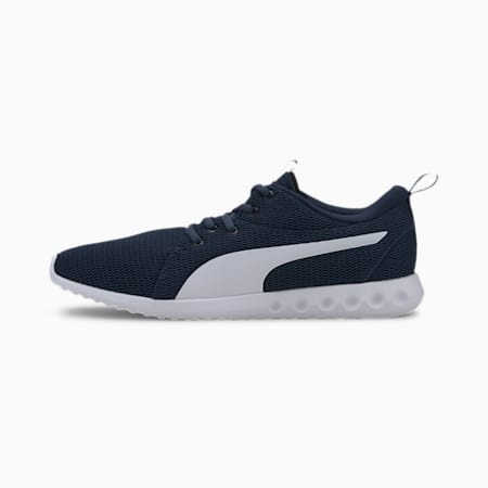 Carson 2 New Core Men's Running Shoes, Dark Denim-Puma White, small