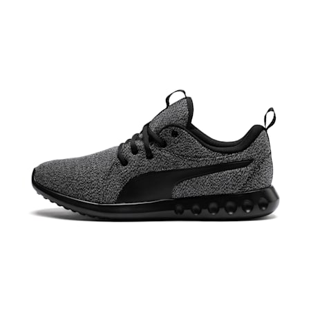 Carson 2 Knit Men's Trainers, Puma Black-Puma Black, small