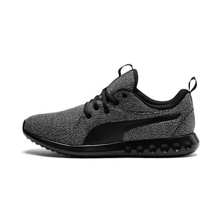 Scarpe da ginnastica in maglia Carson 2 uomo, Puma Black-Puma Black, small