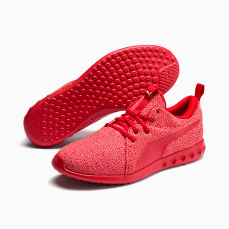 Zapatos de entrenamientotejidos Carson 2 para hombre, High Risk Red, pequeño