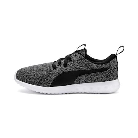Zapatos para correrCarson 2 Knit para mujer, Puma Black-Puma White, pequeño