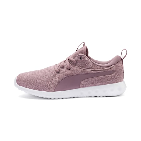 Carson 2 Knit Women's Running Shoes, Elderberry-Puma White, small