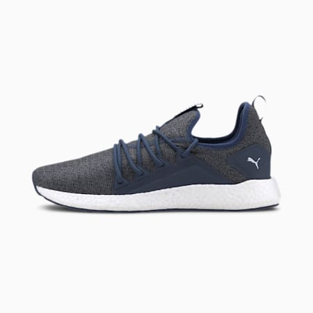 NRGY Neko Knit Men's Running Shoes, Dark Denim-CASTLEROCK, small