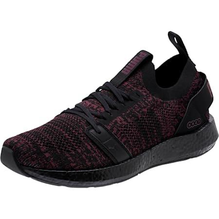 NRGY Neko Engineer Knit Women's Running Shoes, Puma Black-Fig, small