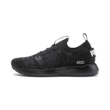 Zapatos para correr NRGY Neko Engineer Knit para mujer, Puma Black-Puma Black, pequeño