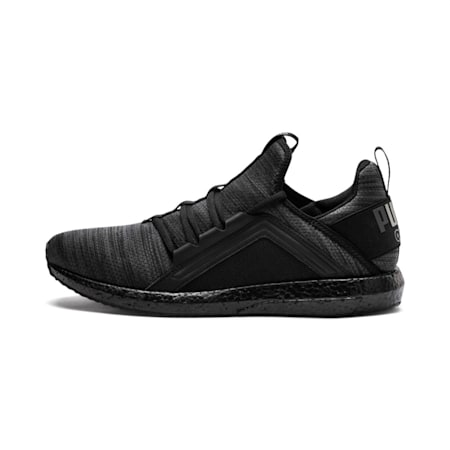 Mega Energy Heather Knit Men's Running Shoes, Iron Gate-Puma Black, small-IND