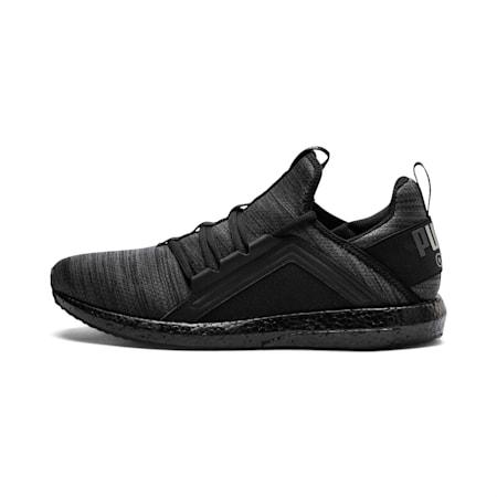 Mega Energy Heather Knit Men's Running Shoes, Iron Gate-Puma Black, small-SEA