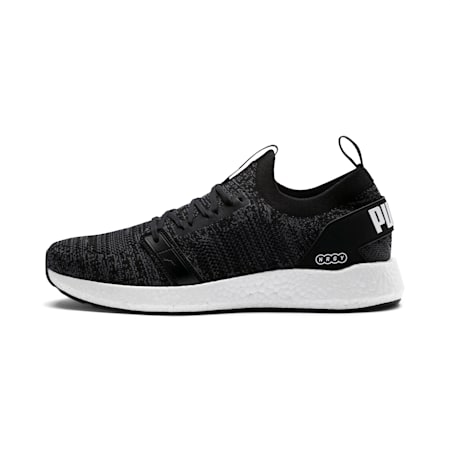 NRGY NEKO ENGINEER KNIT Men's Running Shoes, Puma Black-Iron Gate, small