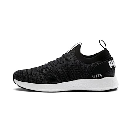 NRGY NEKO ENGINEER KNIT Men's SoftFoam+ Running Shoes, Puma Black-Iron Gate, small-IND