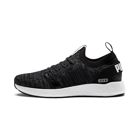 NRGY Neko Engineer Knit Men's Running Shoes, Puma Black-Iron Gate, small