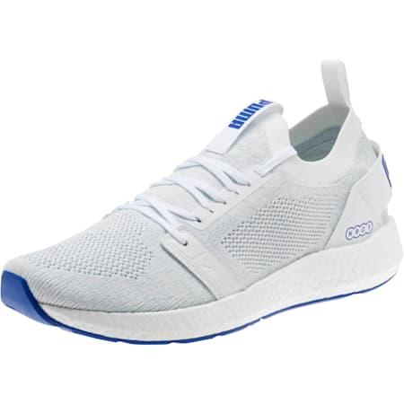NRGY Neko Engineer Knit Men's Running Shoes, Puma White-Surf The Web, small
