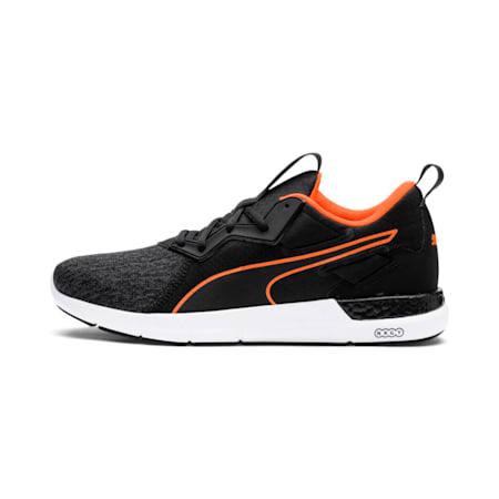 NRGY Dynamo Futuro Men's Running Shoes, Puma Black-Shocking Orange, small-IND