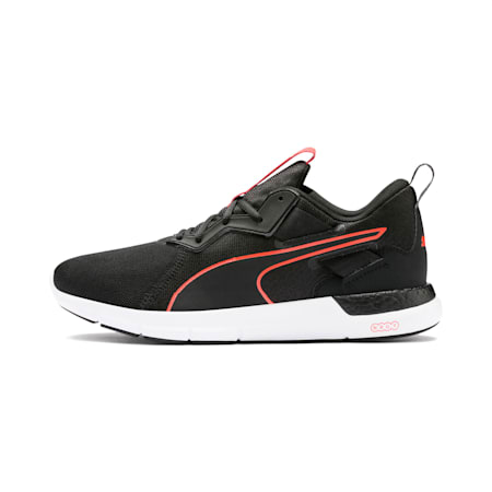 NRGY Dynamo Futuro Men's Running Shoes, Puma Black-Nrgy Red, small-IND
