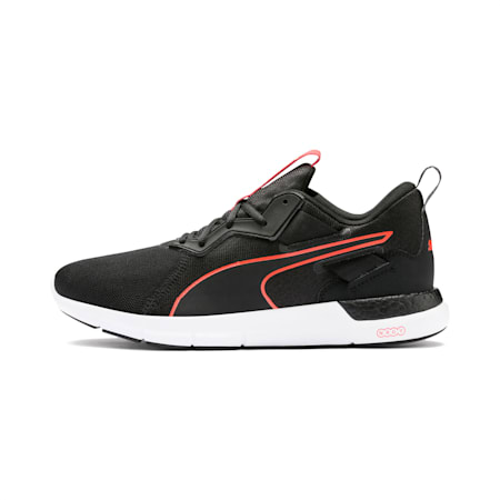 NRGY Dynamo Futuro Men's Running Shoes, Puma Black-Nrgy Red, small